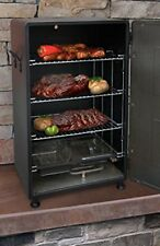 Electric Smoker Meat Fish Food Smokey Mountain Barbeque BBQ Grill Oven Cooker