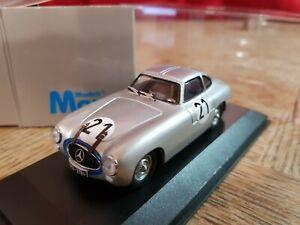 Max Models 3310  Mercedes-Benz 300 SL Winner Le Mans 1952 1:43 Scale