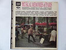 ROBERT BEAUVAIS / GISELE PARRY Musical memories of Paris PTX 40299