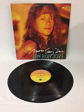 Jon Bon Jovi - Never Say Die   Polygram 1991   LP: Near Mint   Cleaned Vinyl LP
