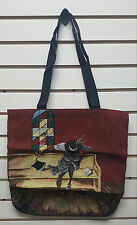 Annie Lee Tapestry Tote Bag/ Purse Holy Ghost African American Art