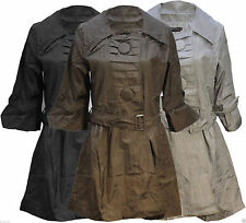 Unbranded Knee Length Raincoats for Women