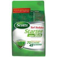 Scotts 21701 Turf Builder Starter Food for New Grass, 1000 Sqft