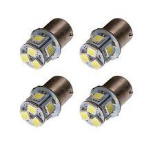 Ampoules R5W R10W LED 8 smd 6000K Veilleuses Moto Feux lampe Auto 4pcs