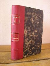 Victor HUGO : LES VOIX INTERIEURES les rayons et les ombres HACHETTE 1863