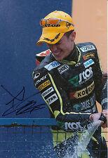 Andrea Dovizioso Hand firmato Scot Racing Honda 12 x 8 foto 2004 125cc campione 5.