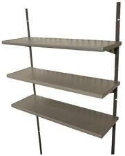 30 in. Shelf Kit with 3 Variable-Height, Steel-Reinforced Polyethylene Shelves