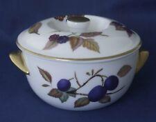 Royal Worcester Porcelain - Evesham - Small Lidded Tureen Soup Bowl 6 - 6