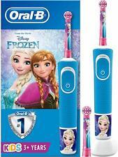 Braun Oral-B  Kids Frozen Elektrische Zahnbürste mit Disney-Stickern Ab 3 Jahren