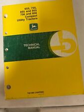 John Deere 655755855955756snd 856 Compact Utility Tractors Technical Manual