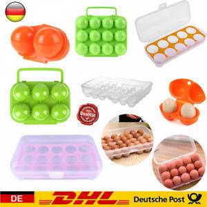 Tragbar Eierbox Eierdose Eierbehälter Eieraufbewahrung Eier Vorratsdose Ei Box