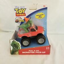 Disney Pixar TOY STORY Pull & Go Monster Truck W/ Exclusive Rex Figure 2010 BNIP