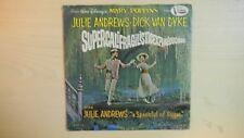 Vista Record Disney's Mary Poppins SUPERCALIFRAGILISTICEXPIALIDOCIOUS 45 RPM1964