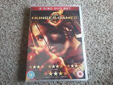 the hunger games 2 disc dvd set new sealed freepost