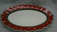 Villeroy & Boch Toy's delight large oval serving tray 19 3/4 inches