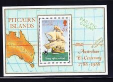 Pitcairn Is, 1988 Bounty Miniature Sheet, Scott 297, Lot 6499