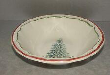 NEW 1 Cereal Bowl Filet Noël pattern Gien