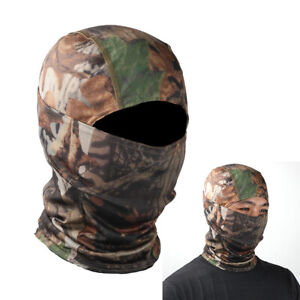 Camouflage Balaclava Full Face Mask Bicycle Hunting Sport Tactical Sun Hats✅