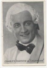 Coliseum Theatre London Casanova Charles Mayhew Vintage Postcard 831b