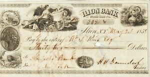 U.S-Ilion Bank-Herkimer County, New York $32.00,Very Fine Condition 5.24.1958