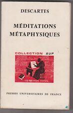 Descartes - Méditations métaphysiques- Florence Khodoss. P.U.F.