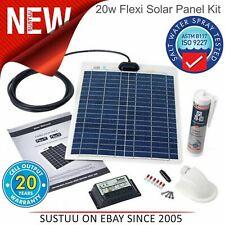 Solar Technology PV Logic 20W Flexible Panneau Solaire Kit & 10A Contrôleur │