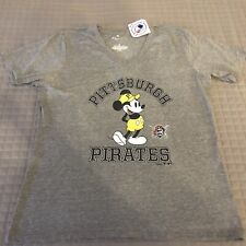 Womens 3XL Pittsburgh Pirates Fanatics Disney Distressed T-Shirt New With Tags