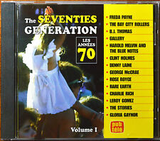 The Seventies Generation Volume 1 by Various Artist [Canada -TVA - See Pics]- NM