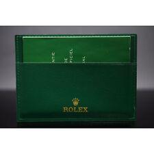 Rolex Lederetui für alle Rolex Garantiekarten ab 2015