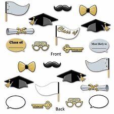 Graduation Party Fun Photo Prop Signs