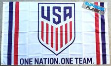 USA Flag Banner 3x5 ft One Nation One Team Soccer Football USMNT