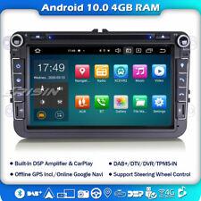 "8-Kern 8"" Android 10 Autoradio GPS OPS Für VW Passat Golf 5 Polo Touran T5 Seat"