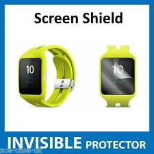 Sony Smart Watch 3 SWR50 INVISIBLE Screen Protector - FRONT Military Grade