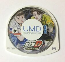 USED PSP Disc Only Initial D Street Stage JAPAN Sony PlayStation Portable game