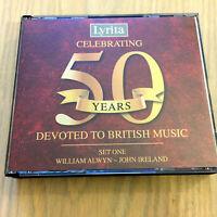 Lyrita Records Celebrating 50 Years Devoted to British Music Set 1