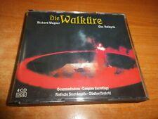 DIE WALKÜRE RICHARD WAGNER THE VALKYRIE 4 CD ALBUM DEL AÑO 1994 EU OPERA