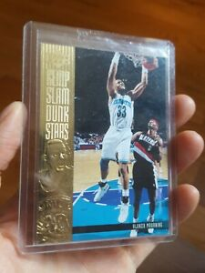 1994-95 Upper Deck Slam Dunk Stars #S7 Alonzo Mourning