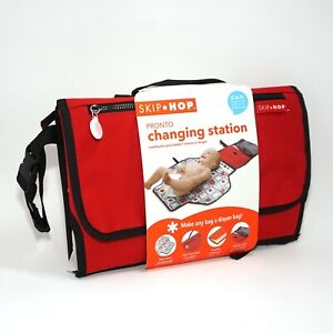 Skip Hop Pronto Changing Station, Red Canvas New Compact/Take anywhere