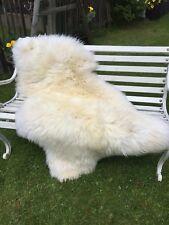 fourrure peau de mouton, d'agneau Eco Tapis en décoration grand 140 x 80 12 cm
