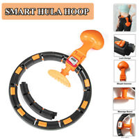 Sports Smart Hula Hoop Lose Weight Ab Exerciser Fitness Circle Detachable Hoops