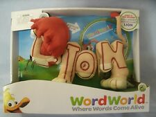 WORD WORLD LION MAGNETIC PLUSH PULL-APART LETTERS WITH DVD PBS KIDS NEW