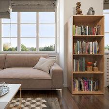 scaffale libreria in piedi Schedario di deposito libri 155x60 cm Sonoma rovere