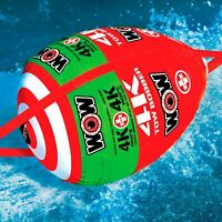WOW Watersports Tow Bobber Inflatable Tow Rope System - 60ft.