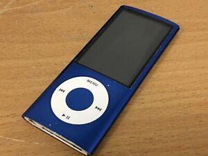 Apple iPod Nano 5th Gen 8GB Blue A1320 MP3 Portable Music Player (needs battery)
