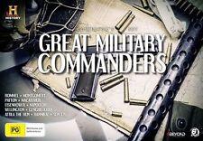Great Military Commanders (DVD, 2016, 6-Disc Set) - Region 4