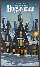"HOGSMEADE Harry Potter Vintage Travel Photo Fridge Magnet 2""x3"" Collectibles"