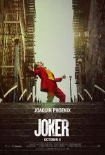 JOKER MOVIE POSTER 2 Sided ORIGINAL FINAL 27x40 ROBERT DE NIRO JOAQUIN PHOENIX