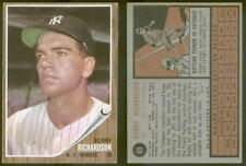 (13877) 1962 Topps 65 Bobby Richardson Yankees-VGX