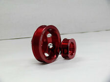 OBX Power PULLEY SET MAZDA RX8 RX-8 04-08 RENESIS FE3S Red