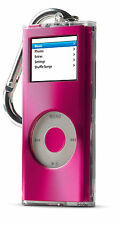 Belkin Brushed-Metal-Top Acrylic Case for iPod nano 2nd Gen 2G Pink F8Z141-pnk